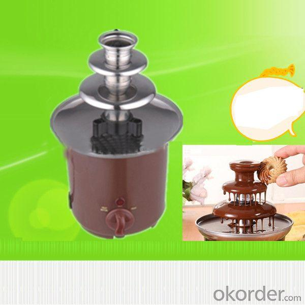 65W.3 Tiers.Mini Chocolate Fountain.Home Chocolate Fountain
