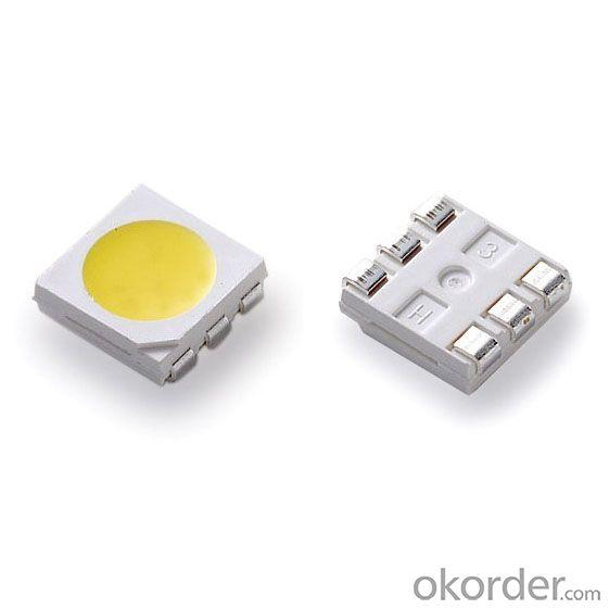 High Quality Newest 0.2W 20 to 25Lm 5050 White Top SMD LED