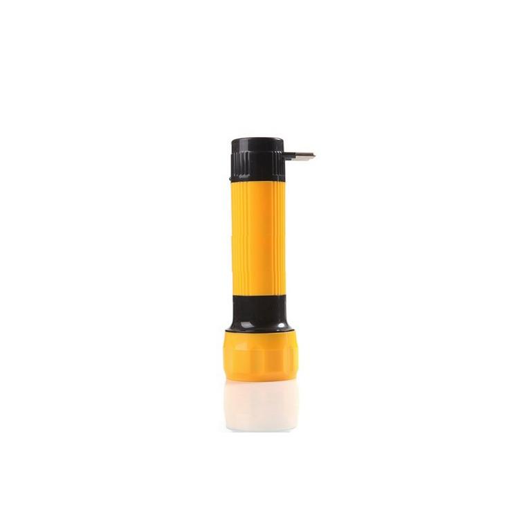 4 LED Rechargeable Plastic Flashlight