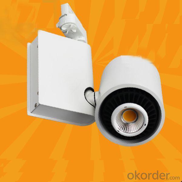 High Power 60 Degree Rotable Commercial Led Cob Track Light Led