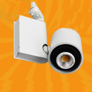 High Power 60 Degree Rotable Commercial Led Cob Track Light Led