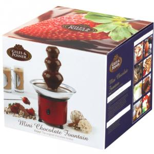Giles Posner Mini Red Chocolate Fountain