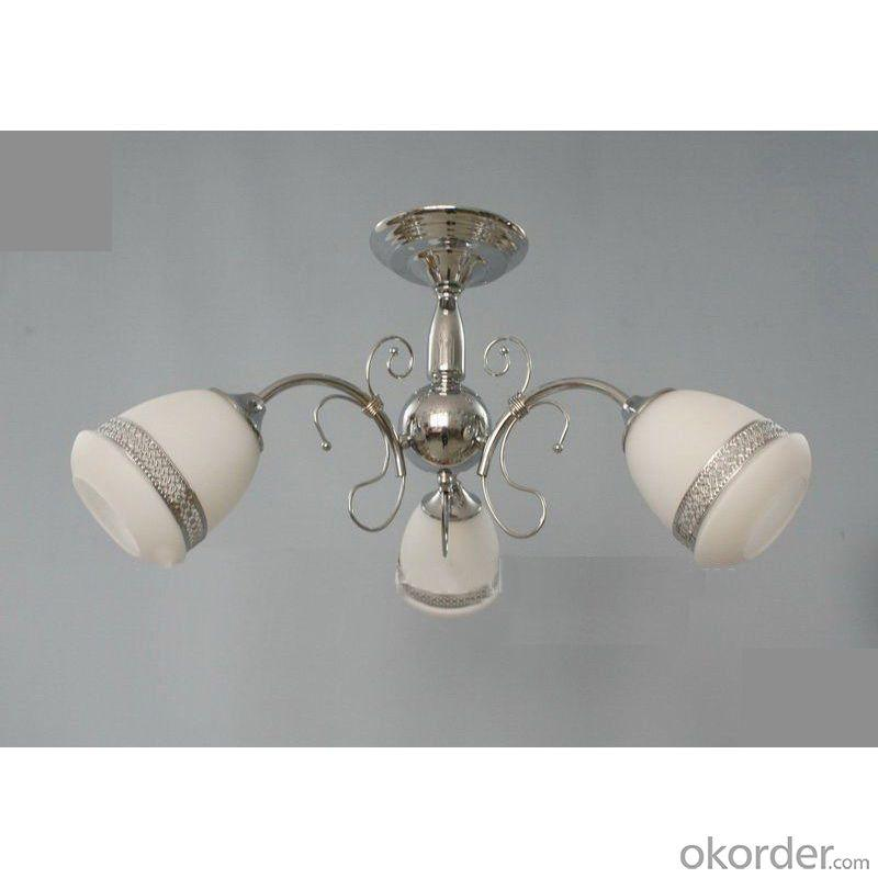 Modern Chrome Ceiling Chandelier