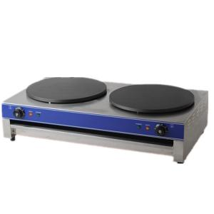 Gas Crepe Maker Machine Rotating Double Heads
