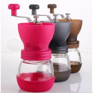 Dishwaser Safe Coffee Mill/Grinder, Kuissential Manual Ceramic Burr Coffee Grinder