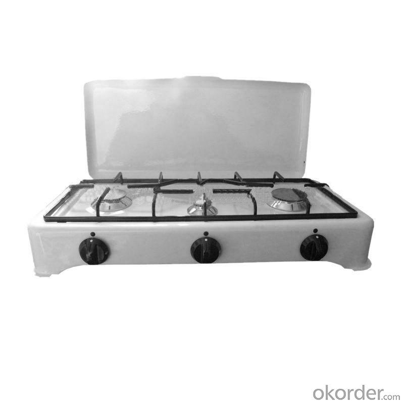 Gas Stove European Style Three Burner