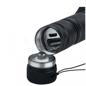 Aluminium Led Cree More Powerful Flashlight With 18650 Rechargable Battery
