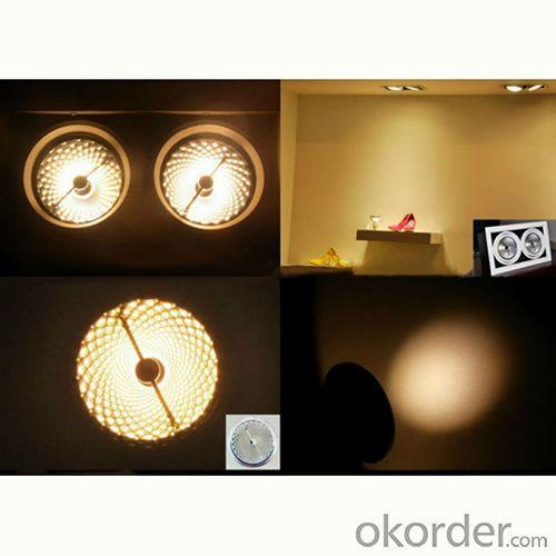 High Quality 15W Cree Chips Ar111 Led Spotlight/Ar111 Gu10 Led/Ar111 Dimmable Led Lamp