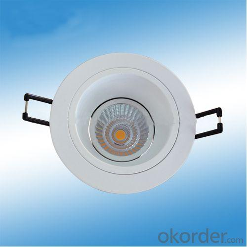 7W,9W Dimmable COB Decorative Ceiling Recessed Light Fitting