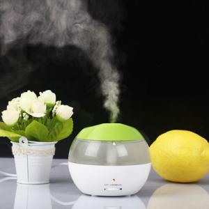 Mini USB Humidifier with Blue LED Light