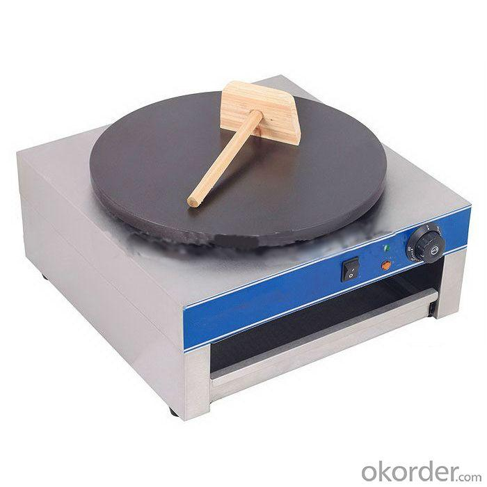 Single Plate Electric Crepe Maker with Thermostat Control