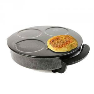 Die-cast Aluminum Crepe Maker with Cool-touch Handles