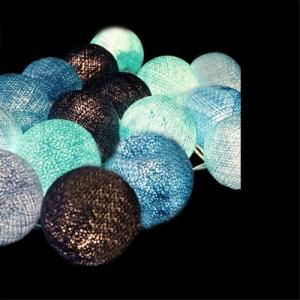 2014Best Selling!!Cotton Ball Lantern String Lights For Festival Decoration