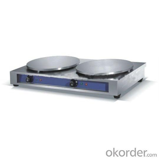 Crepe Maker with Non-stick Surface