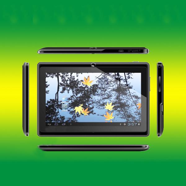 China Model 512Mb/4Gb 7 Inch Allwinner A13 Q88 Tablet Pc
