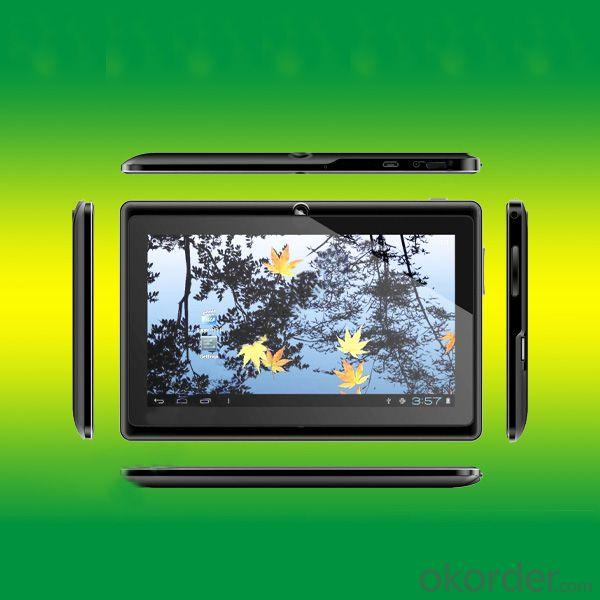 China Model 512Mb/4Gb 7 Inch Allwinner A13 Q88 Tablet Pc