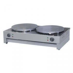 Gas Crepe Maker High Efficient 40*40cm Plate Diameter