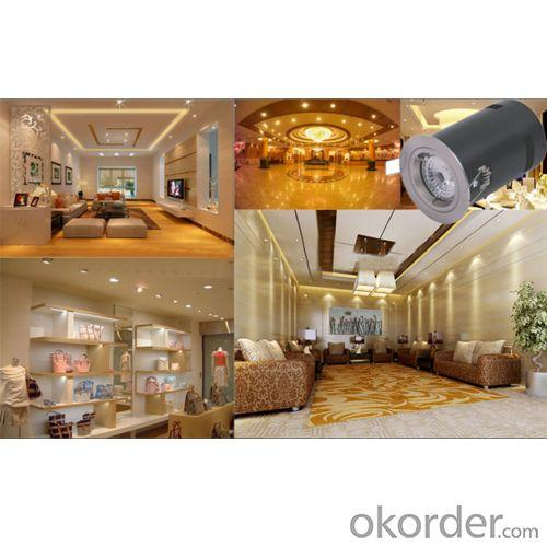 Aluminum GU10 Led Fire Rated Downlight