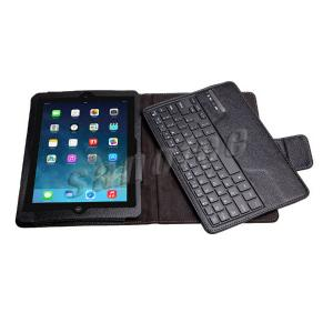 Leather Case With Detachable Wireless Bluetooth Keyboard For Ipad Air