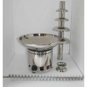 Electric Stainless Steel 6 Tiers Cheap Chocolate Fountain Sc-Q07