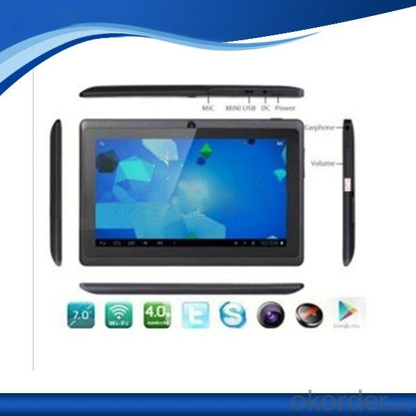 Allwinner A13 Dual Camera Android Tablet Q88