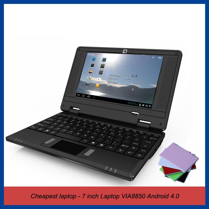 """Mini Laptop 7"""" Via 8850 Android 4.2 OS"""