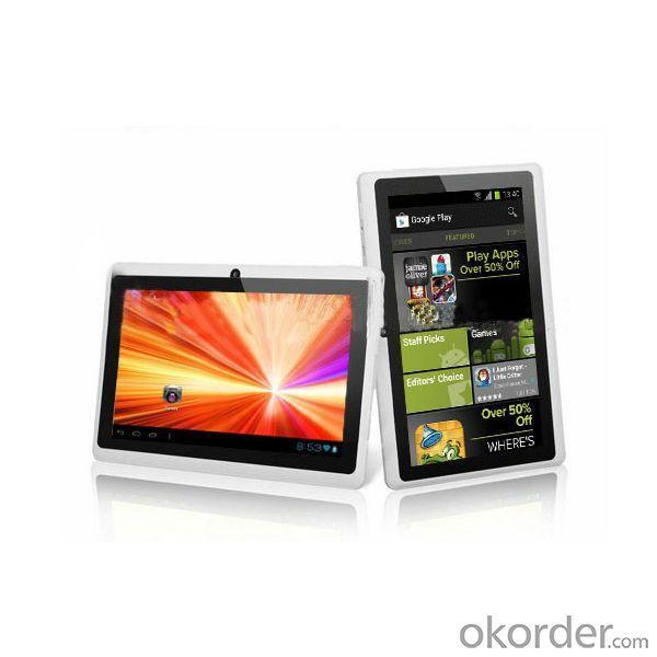 Boxchip A13 Tablet 512Mb/4Gb 7 Inch Q88 Tablet Manufacturer Best Selling