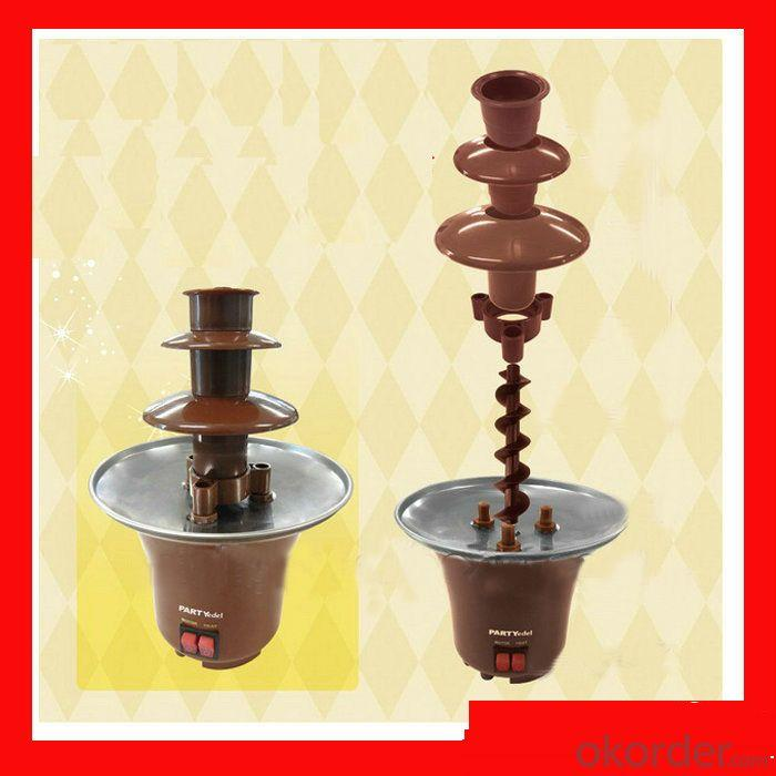 Oxgift Nostalgia Electrics Mini Chocolate Fondue Fountain