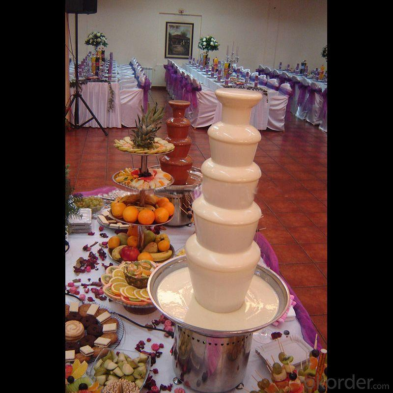 Hot Sale 6 Tier Commercial Chocolate Fountain