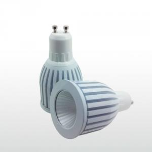Cob 7W Gu10 1 Led 700 Lumen 3000K-3500K Warm White Light White Led Spotlight Bulb 220V 230V Dimmable
