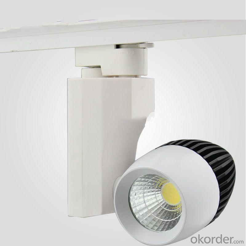 2014 New Design Cob 30W Led Track Light Adjustable