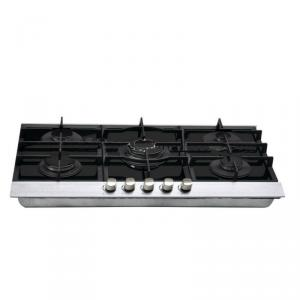 Glass Gas Cooker with 5 Burners
