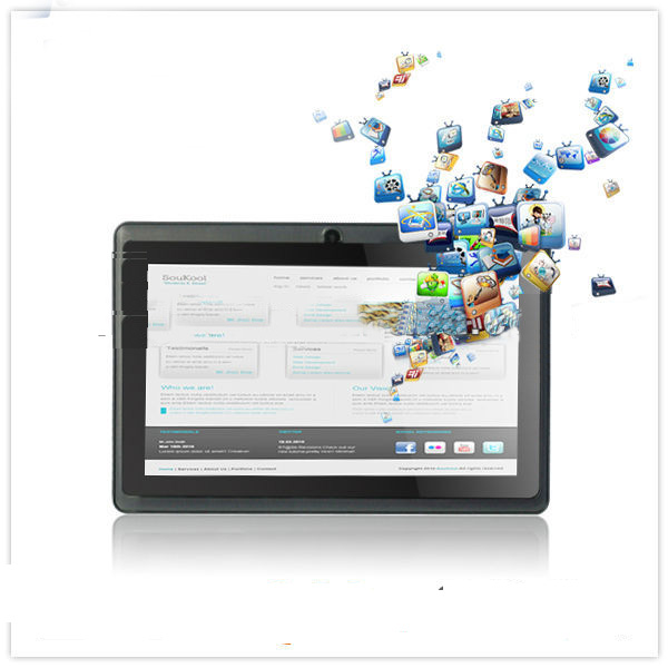 Allwinner A13 7 Inch Cheap Tablet 800*480