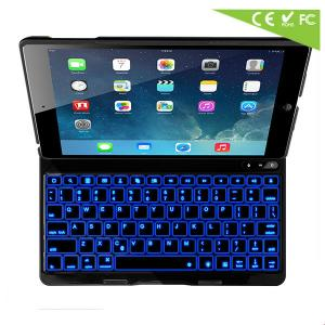 For Apple Ipad Air/ Ipad 5 Backlit Keyboard Case Illuminated Keyboard Ultrathin Cover Stand Bluetooth Keyboard