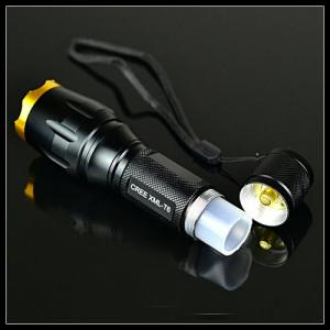 Aluminum T6 Led Flashlight Cree XM-L T6 Led Flashlight 1300 Lumens Led Flashlight Torch 18650 Led Flash Light