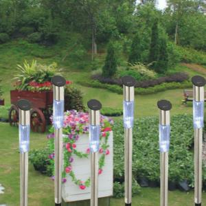 Solar Outdoor Garden Light LED Stainless Steel Lawn By Professional Manufacturer