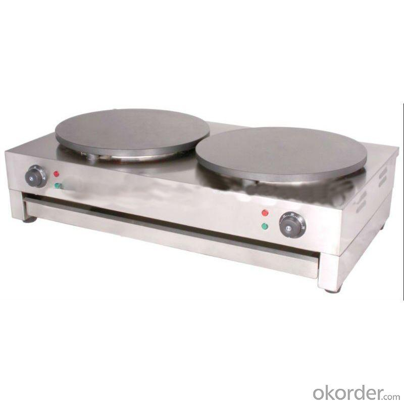 Electric Crepe Maker with Nonstick Surface