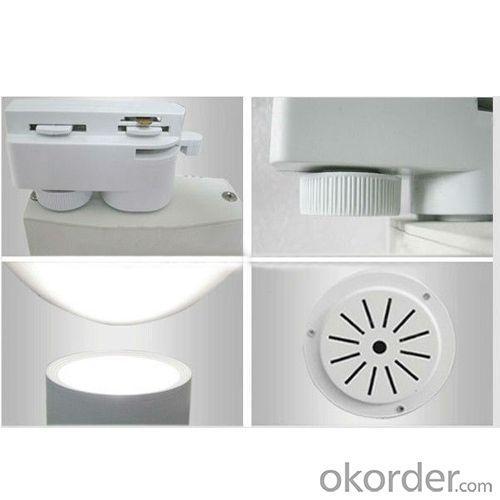 2014 New Cob Led Track Light Pure White 85-265V Factory Price