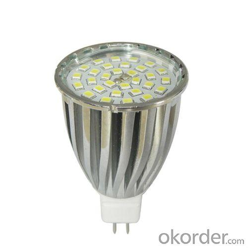 Super Bright Dimmable Epistar Gu10 Mr16 E27 Smd5050 Smd3528 Aluminum High Power Led Spot Light With Ce Rohs 1-6W