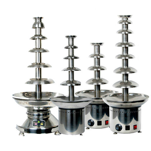 Chocolazi Brand All Models 304# Stainless Steel Commercial Chocolate Fountain