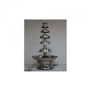 Stainless Steel Assembly B115S6P-40 115Cm 6Tiers Chocolate Fountain With Ce