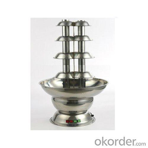 B100Ds4P 100Cm Double 4Tiers Chocolate Fountain