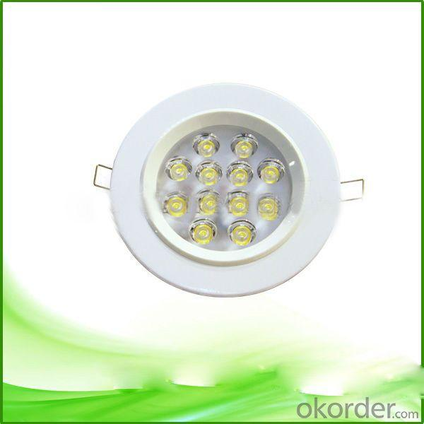 12w Ultrathin Pure Aluminium LED Downlight