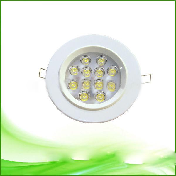 12w Ultrathin Pure Aluminium LED Downlight