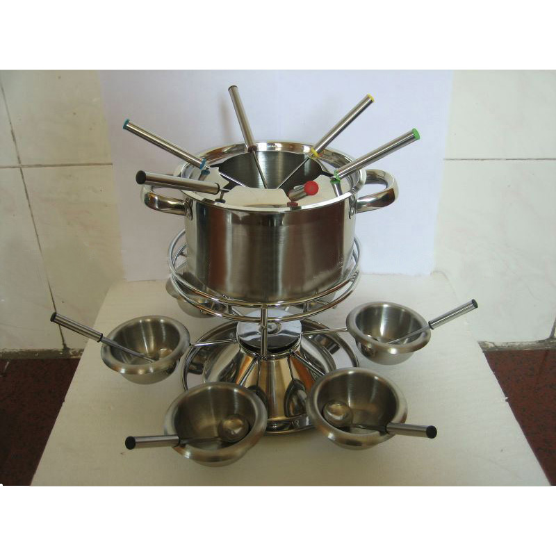 Stainless Steel Cheese Pot