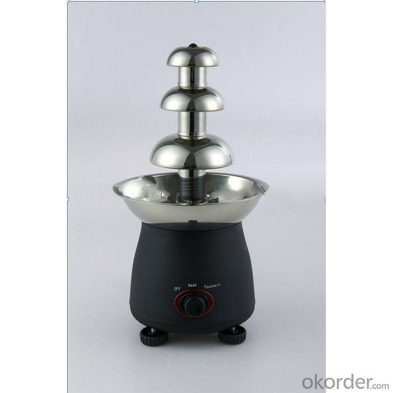 Ce Approval Atc Stainless Chocolate Fountain Machine
