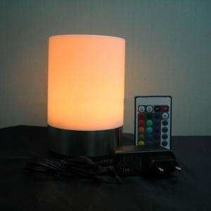 Cylindrical Shape (Stainless Steel Lamp Base + Plastic Lamp Shade)