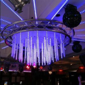 3D Effect Dmx Vertical Tube Light 1M Transprant Cover Light Led Vertical Tube