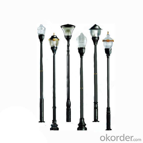 Municipal Construction Classic LED Garden Pole Light From China Manufacturer