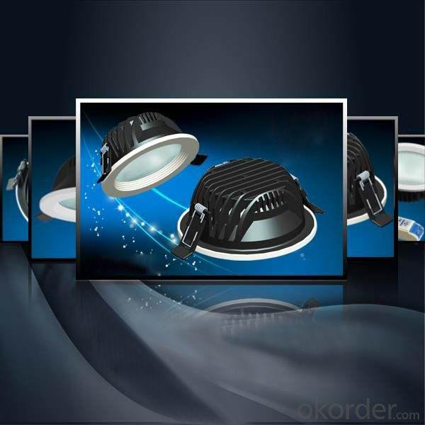 2014! 3,4,5,6,8inch 8-32W China Led Lamp Export Factory Samsung Downlight Led With Australia Standard SAA TUV GS Mark